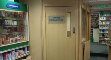 Private Consulting Room